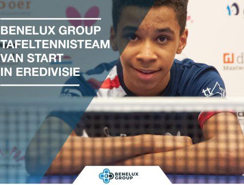 Benelux Group tafeltennis team start eredivisie